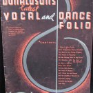 Vocal and Dance Folio Walter Donaldson vintage 1934 song book