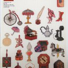 Attic Antiques Mini Motif designs for cross stitch patterns from Graphworks