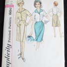 Simplicity 4442 misses bowling or divided skirt & action back blouse size 14 B34