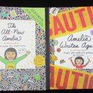 2 Amelia American Girl books Writes Again & All New Marissa Moss like new