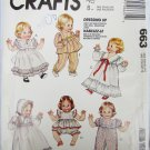 "McCall 663 baby doll pattern sizes S 12-14"" M 16-18"" L 20-22"" UNCUT"