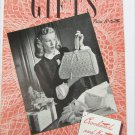 Coats & Clark Gifts crochet vintage 1945 book 226