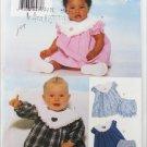 Butterick 5219 infant dress sizes M L XL with panties