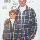 Butterick 5773 boys and mens jacket sizes S M L XL
