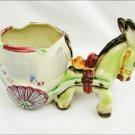 Donkey planter or ashtray Japan china
