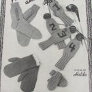 Socks Accessories Mittens dog sweater golf club covers knit crochet booklet