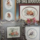 Stoney Creek Babes of the Woods cross stitch pattern book 58 rabbits fox squirrel
