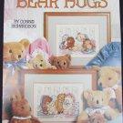 Leisure Arts 2065 Bear Hugs cross stitch leaflet cuddley bears