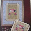 Gentle Heart wedding marriage sampler cross stitch pattern