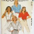 McCall 8050 misses tops blouses size 18 bust 40 UNCUT pattern