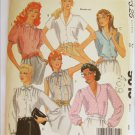 McCall 9013 misses tops blouses size 16 bust 38 UNCUT pattern