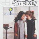 Simplicity 7058 girls jumper & blouse size 5 UNCUT pattern breast 24