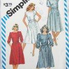 Simplicity 6212 misses dress size 16 bust 38 UNCUT pattern square neckline
