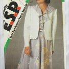Simplicity 6758 misses dress & bolero jacket sizes 16 18 20 UNCUT pattern