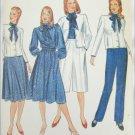 Butterick 4930missed jacket blouse skirt culottes pants size 16 UNCUT pattern