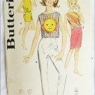 Butterick 2298 misses pants top vintage 1960s size 7 breast 25 pattern