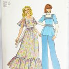 Simplicity 7174 misses vintage 1975 dress or top size 14 bust 36 pattern