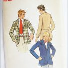 Butterick 3020 mans jacket size 40 UNCUT pattern