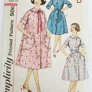 Simplicity 3712 misses robe house dress  size 14 bust 34 UNCUT vintage pattern