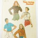 Butterick 6618 misses blouse patterns size 12 bust 34 UNCUT pattern vintage 1970s
