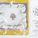 Creative Circle Basket Bouquet pillow top kit cross stitch sealed