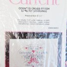 Current cross stitch kit wedding congratulations card 5 x 7""