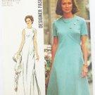 Simplicity 5911 misses designer dress sizes 10 & 12 bust 32 1/2 & 34 vntage 1973