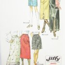 Simplicity 9099 misses skirt three lengths size 10 waist 24 UNCUT pattern