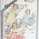 Simplicity 9939 Cinderella child dress size 6 all piece but no directions