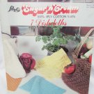 Sugar 'n Cream Lily 7 dishcloths yarn knit patterns