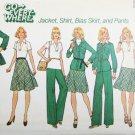 Simplicity 7070 misses jacket shirt bias skirt pants size 16 B38 UNCUT pattern
