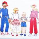 Butterick 6490 child top shorts pants skirt sizes 3 4 UNCUT pattern unisex