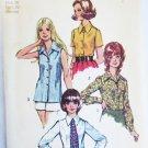 Simplicity misses blouse size 38 bust 42 pattern UNCUT vintage 1972