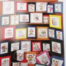 Personally Yours 32 cross stitch patterns cheerleader ballerina golfer and more