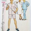 Simplicity 5039 man's night shirt pajamas size Medium chest 38-40