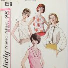 Simplicity 5441 misses blouse size 12 bust 32 vintage 1964