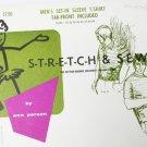 Ann Person Stretch & Sew 1750 men T shirt tab front sizes 34 36 38 40 42 44 46 48