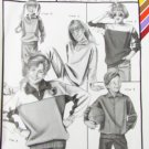 Ann Person Stretch & Sew 973 child top UNCUT sizes 21 23 25 27 29 31