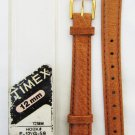 Timex 12 mm padded pigskin tan leather watchband never used