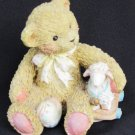 Hillman Chelsea bear with lamb Friends are Blessing 1992 figurine