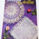 Ruffled Doilies Coats & Clark book 306 vintage 1954 crochet patterns