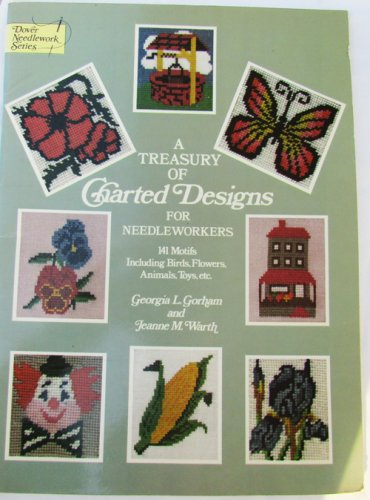 Treasury Charted Designs for Needleworkers 141 motifs birds animals flowers +
