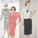 Butterick 3455 misses top & skirt sizes 14 16 18 UNCUT pattern