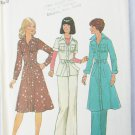 Simplicity 7490 misses dress top pants size 12 UNCUT retro 1976