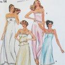 Butterick 3434 misses woman lingerie pattern size 14 UNCUT camisole slip