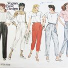 Vogue 1371 misses pants size 12 waist 35 3/4 UNCUT pattern