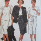 Simplicity 6325 misses top jacket skirt sizes 6 8 10 12 14 16 pattern