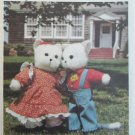 Butterick 5666 cat and mouse stuffed toys pattern UNCUT