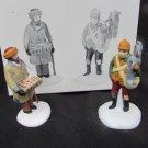 Department 56 Village Street Peddlers Dept 5804-1 set of 2 figurines in box