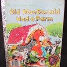 1975 Old MacDonald Had a Farm Golden Book vintage